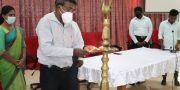 மின் இணைப்பு மற்றும் வீட்டுமின்சுற்றுப் பயிற்சியினை பூர்த்தி செய்த பங்குபற்றுனர்களுக்கான உபகரணப் பொதிகள் வழங்கும் நிகழ்வு