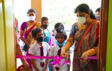 Ceremonial Opening of Classroom Blocks in Vadamaradchchy Zone Schools
